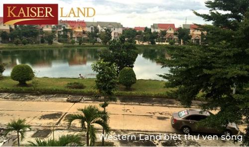 Western Land làng biệt thự ven sông